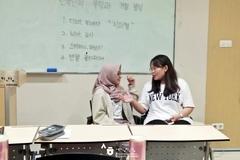 2019년 1학기 중급 1A-1반 한국어와 한국문화 수업(한국인의 부탁과 거절 방식)
